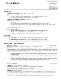Attorney Resume Bar Admission Cover Letter Associate Attorney Resume Junior Associate Attorney