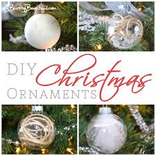 easy diy christmas ornaments a burst of beautiful