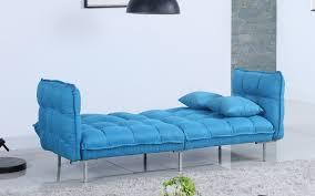 scoop modern tufted linen futon sofamania com
