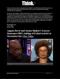 assata shakur in her own words hands off assata