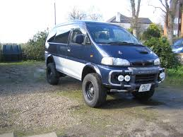 mitsubishi delica space gear bangshift com freak show this 1996 mitsubishi delica van has been