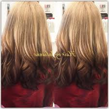reverse ombr hair light on top dark on bottom of hair yelp with