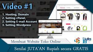 tutorial membuat website gratis untuk pemula 1 tutorial membuat website toko online professional ecommerce