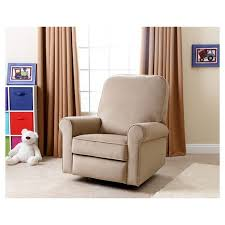 fabric swivel recliner chairs perth fabric swivel glider recliner chair abbyson living target