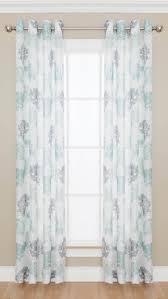 colormate adalia grommet top semi sheer window panel