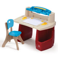 Desk For 2 Kids by Deluxe Art Master Desk