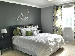 gray walls white curtains gray accent wall loving the dark accent wall grey master bedroom