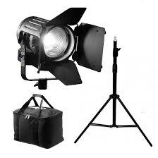lupo dayled kits 2 led lights with lighting stands bag gels