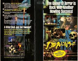 the horrors of halloween night of the demons trilogy vhs and dvd