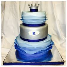 baby shower cake for baby boy named king love the
