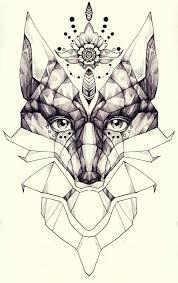 fox tattoo design by raskina on deviantart