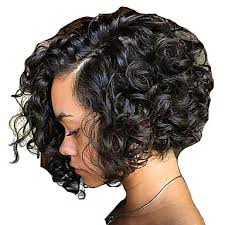 same haircut straight and curly human hair lace front wig brazilian hair straight curly bob haircut