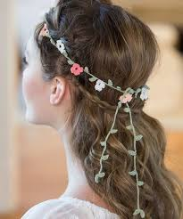 crochet headband floral crochet headband pattern allfreediyweddings