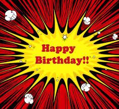 happy birthday book comic book style happy birthday birthday happy birthday happy