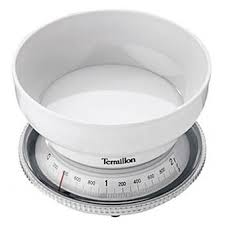 balance de cuisine terraillon balance de cuisine mécanique t205 blanche achat