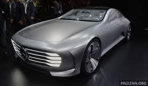 mercedes frankfurt frankfurt 2015 mercedes concept iaa debuts