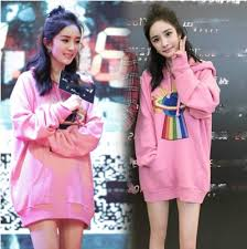aliexpress yang yang mi in same rainbow star embroidery loose han edition in the