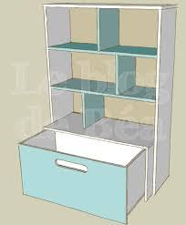 meuble de rangement jouets chambre diy étagère pour chambre d enfant et coffre à jouets le de béa