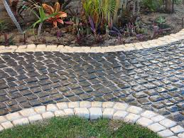 Paving Ideas For Gardens Front Walk Paver Ideas This Georgetown Family Added A New Walkway