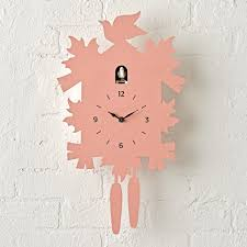 modern grey cuckoo clock the land of nod