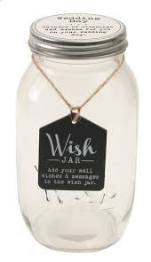 wedding wish jar top shelf wedding wish jar with decorative lid reviews wayfair