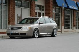 slammed audi a6 suspension question for 1999 a6 avant