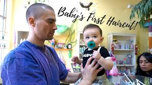 baby u0027s first haircut u0026 first flight terrible experience youtube