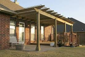 Free Standing Wood Patio Cover Plans by Exellent Wood Patio Cover Ideas Easy Ehow Uk Image Of Aluminum And