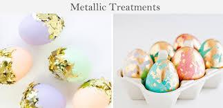 metallic easter eggs 10 easter egg diys ladylux online luxury lifestyle technology