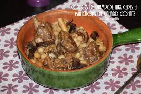 cuisiner manchons de canard cocos de paimpol aux cèpes et aux manchons de canard confits les