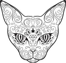 coloring pages tattoos image result for sugar skull coloring pages coloring pages
