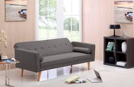 Fabric Sofas Melbourne New 350 Grey Sofa Bed Fabric 3 Three Seater Lounge Office Couch