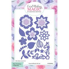 Card Making Magic - craft stash new exclusive christina griffiths collection milled