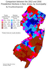 2016 Election Map What On Earth Happened In 2016 Part 5 U2013 New Jersey Presidential