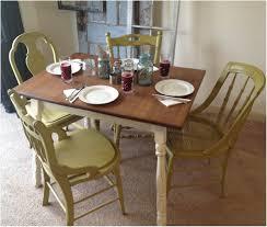 Yellow Retro Kitchen Chairs - kitchen vintage style kitchen table and chairs antique kitchen
