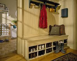stylish and functional coat rack bench