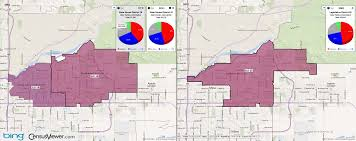 Apache Junction Az Map Arizona State Legislative District 25 2001 2011 Comparison