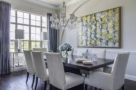 low dining room chair rail design ideas