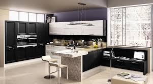 interior design for kitchen and dining fancy kitchen set in modern design with dining table and glass