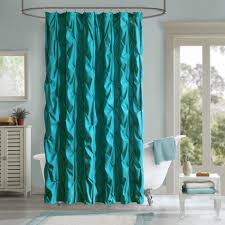 Blue And Green Shower Curtains Cheap Black Shower Curtains Brown Curtain Blue Cotton A Solid