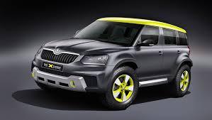 skoda yeti 2014 skoda yeti xtreme to be brand u0027s second concept at wörthersee 2014