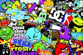 jdm sticker bomb jdm sticker bomb wallpaper free here