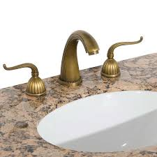 Polished Brass Bathroom Faucets Widespread Brass Faucet Befon For