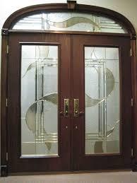 arch glass doors interior custom wood doors interior exterior