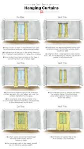 how to hang curtains best way to hang a curtain rod integralbook com