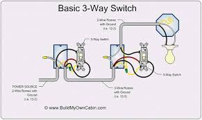 3 way and 4 way switch wiring for residential lighting home