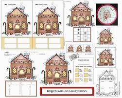Fact Family Worksheets Classroom Freebies Gingerbread House Math Fun