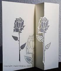 Ingrid Siliakus Rose Pop Up Card Popup Card Shop