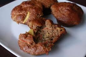 gluten free carrot cake banana muffins recipe dairy free