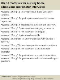 Nursing Home Job Description Resume by Top 8 Nursing Home Admissions Coordinator Resume Samples